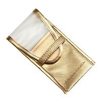 Matte PU Leather Makeup Brushes Organizer Bag Portable Eyeliner Pen Holder