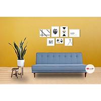 Sofa Giường Palm Màu Xanh 1m8 Giá Rẻ Phong Cách Hiện Đại