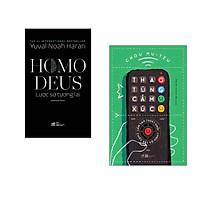 Combo 2 cuốn sách: Homo Deus lược sử tương lai + Thao túng cảm xúc