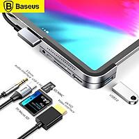 Baseus Multifunctional Type-C HUB Converter USB C HUB to USB 3.0 for iPad Pro Type C HUB for MacBook Pro Docking Station