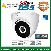 Camera dome HDCVI Cooper 2MP Dahua DH-HAC-T2A21P hàng chính hãng DSS Việt Nam
