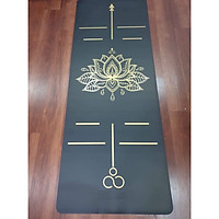 Thảm Yoga Mandala Cao Cấp In SilkGold