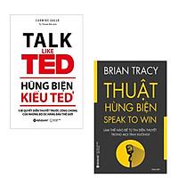Combo Hùng Biện Hứng Khởi: Thuật Hùng Biện + Hùng Biện Kiểu Ted 3 - 9 Bí Quyết Diễn Thuyết Trước Công Chúng Của Những Bộ Óc Hàng Đầu Thế Giới