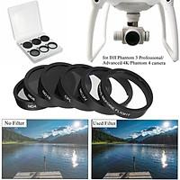 6x ND4+ND8+ND16+UV+CPL Filter Cap Lens Protector F/DJI Phantom 4/3pro/3