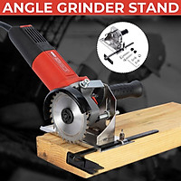 45°/ 180°/ 90° (With screws)Angle Grinder Stand Angle Grinder Stand for Angle Grinder Cast Iron Cutting Fixing Clamp Holder Bracket