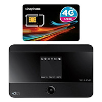 Bộ Phát Wifi Di Động 4G TP-Link M7350 300Mbps + Sim Vinaphone 3G (Trọn Gói 12 Tháng Không Cần Nạp Tiền Duy Trì) - Hàng Chính Hãng