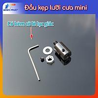 Khớp nối đầu nối trục chuyển đầu kẹp lưỡi cưa motor 775 M6 5mm