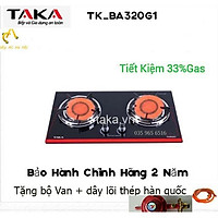 Bếp Ga Âm Hồng Ngoại Việt Nhật TAKA TKBA_320G1 Hàng chính hãng