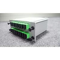 Bộ chia quang PLC 1x16 SC/APC. BTON. ( lắp sẵn 17 adapter). Hàng chính hãng