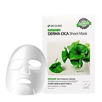 Combo 10 Miếng Mặt Nạ Rau Má 3W Clinic Essential Up Derma Cica 25ml x10