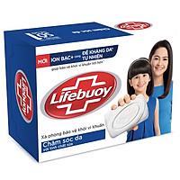 Xà Bông Cục Lifebuoy 90g Chăm Sóc Da Giúp Dưỡng ẩm Và Bảo Vệ Khỏi 99.9% Vi Khuẩn Gây Bệnh