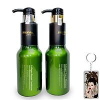 Bộ dầu gội/xả Sophia Collagen Repair phục hồi tóc hư tổn Hàn Quốc (2x500ml) tặng kèm móc khoá