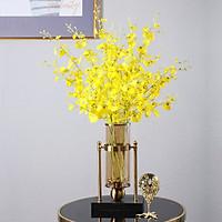 Hoa lụa, combo 5 - 10 cành hoa hoàng phi yến dài 1m trang trí nhà cửa phong cách hiện đại AZ-105