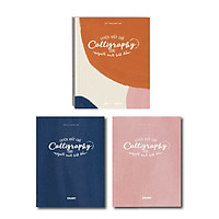Bộ Sách luyện viết chữ Calligraphy dành cho người mới bắt đầu (Gồm 1 sách hướng dẫn và 2 vở luyện tập)