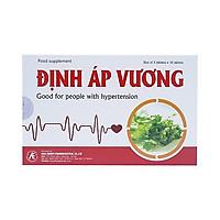 Thực phẩm bảo vệ sức khỏe Định Áp Vương giúp ổn định huyết áp (Tặng kèm móc chì khóa siêu cute Hàn Quốc)