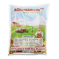 Phân bón hữu cơ đậm đặc Đầu Trâu AGRIMARTIN SUPER ORGANIC (gói 1kg)