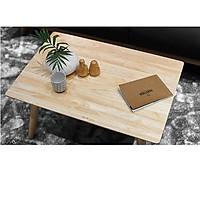 bàn chữ nhật THP chân gỗ