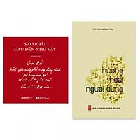Combo 2 cuốn thơ hay: Thương Hoài Người Dưng, Sao Phải Đau Đến Như Vậy