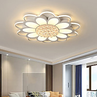 Đèn chùm pha lê ốp trần phòng khách đẹp - OPLADY19