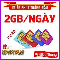 SIM 4G MOBIFONE FV99 (KHÔNG GIỚI HẠN DUNG LƯỢNG, Tốc Độ Luôn Luôn Cao 2Mbs)-Giao số ngẫu nhiên- HÀNG CHÍNH HÃNG