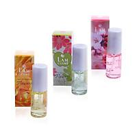 Bộ 3 chai nước hoa nữ Lamcosmé Flowers, Hương hoa cỏ thiên nhiên (22ml)