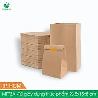 Combo 1000 túi giấy đựng thực phẩm  - Túi giấy đựng đồ ăn - Túi giấy bánh mì