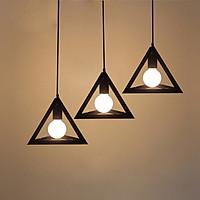 Combo 3 đèn thả khối tam giác đa chiều trang trí kèm bóng LED chuyên dụng UK DOCTOR LAMP