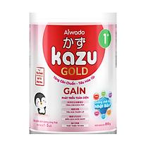 [Tinh tuý dưỡng chất Nhật Bản]  Sữa bột KAZU GAIN GOLD 810g 1+ (từ 12 tháng đến 24 tháng)