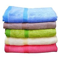 Combo 5 khăn tắm tre kích thước 50 x 100cm