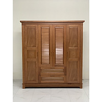 Tủ quần áo gỗ xoan đào MC09