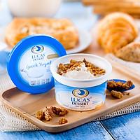 Sữa Chua Hy Lạp Lucas HN - Sáng Mịn Làn Da Cân Bằng Vóc Dáng - Combo 10 Hộp Sữa Chua Hương Vị Truyền Thống - AD Giao Hàng