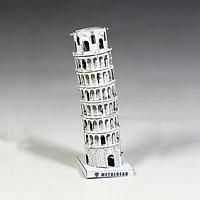 Mô hình thép 3D tự ráp tháp nghiêng Pisa màu