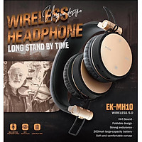 MH10 Wireless Headphone Bluetooth Headset Foldable Stereo Gaming Earphone with Microphone for iPad Mobile Phone