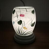 Đèn Xông Tinh Dầu Bát Tràng - Sứ Thấu Quang - Cá Thần