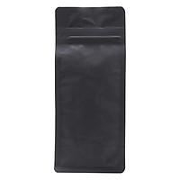 Túi Zip Đáy Bằng Pocket Đen Mờ (10.5 x 24.5 cm)