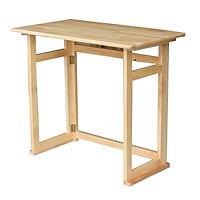 Bàn học gỗ xếp gấp gọn đa năng
