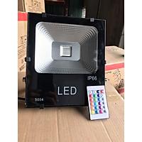 Đèn pha LED 50W đổi màu RBG ngoài trời