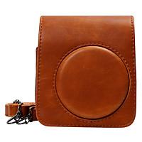 Bao Da Bảo Vệ Máy Chụp Ảnh Lấy Liền Instax Mini 70 CASE707 – Brown – Hàng Nhập Khẩu