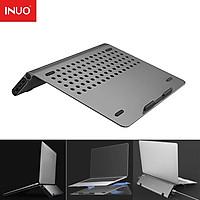 Inuo 2 trong 1 Máy tính xách tay Máy tính xách tay Type-C USB3.0 Trạm nối HDMI Bộ chuyển đổi HUB Máy tính xách tay đứng