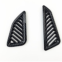 1 Pair Car Accessories Front Small Air Outlet Decoration Cover Trim Car Sticker Styling For Corolla 2019