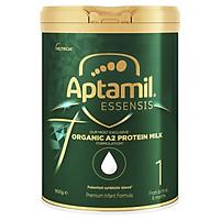 Sữa công thức hữu cơ APTAMIL ESSENSIS ORGANIC A2 PROTEIN MILK PREMIUM INFANT FORMULA 900g (Số 1 cho bé từ 0-6 tháng tuổi)