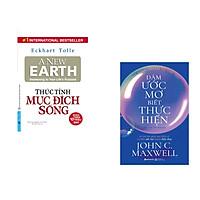Combo 2 cuốn sách: Thức Tỉnh Mục Đích Sống + Dám ước mơ biết thực hiện