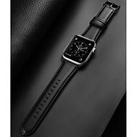 Dây da chống nước Cho Apple Watch Series 5,4,3 Size 42/44 Dux Ducis_Hàng nhập khẩu