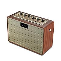 Loa Bluetooth Shamper A5 40W Retro Home Audio Karaoke - Loa di động âm thanh chuyên nghe trong nhà và phòng lớn - Di chuyển nhỏ gọn + Fullbox Kèm Micro không dây