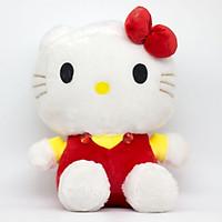 Thú Bông  Mèo Hello Kitty dễ thương 45CM - Màu Ngẫu Nhiên