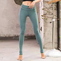 Quần Tập Yoga, Gym, Thể Thao Nữ Đẹp Cao Cấp, Vải Co Dãn, Cạp Cao, Dẫm Gót SM7891