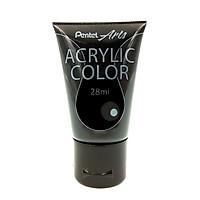 Tuýp Màu Acrylic Pentel WA2-T28 - Black