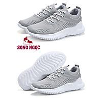 Giày Thể Thao Nam SSN24 mầu ghi sáng chất liệu thoáng khí khử mùi hôi chân,đi chơi,tập gym thể thao