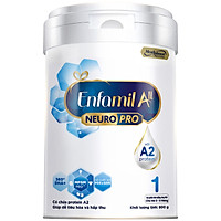 Sữa bột Enfamil A2 Neuropro 1 cho trẻ từ 0 - 6 tháng tuổi – 800g