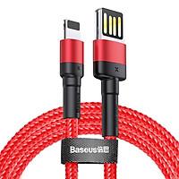 Cáp sạc , truyền dữ liệu tốc độ cao Baseus Cafule Lightning Special Edition cho iPhone/ iPad ( 2.4A, USB Double Side Fast Charge Cable) - Hàng Chính Hãng